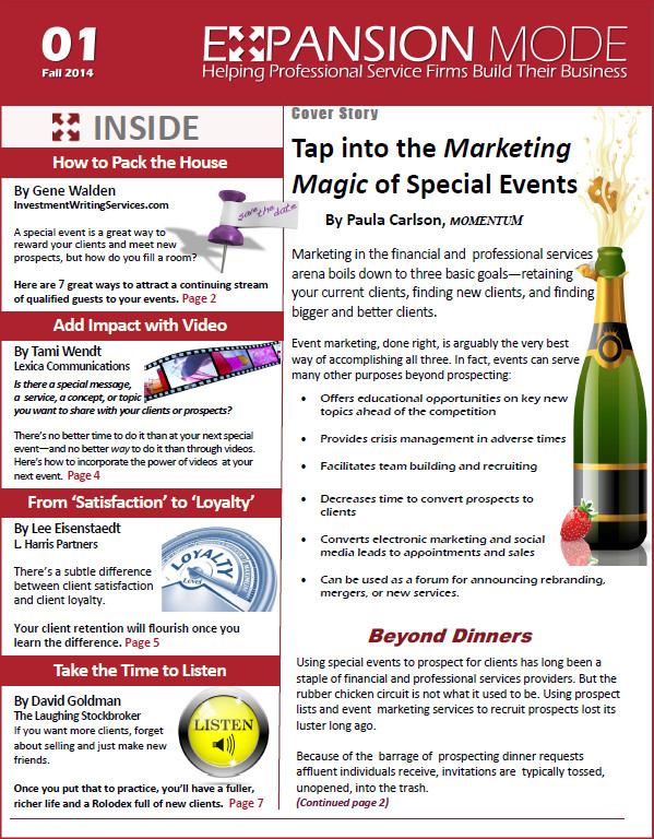 bright newsletters as they are at writing business newsletter writing